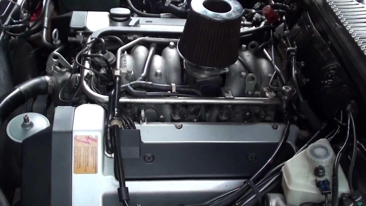 W116 4,2 V8 M119 Engine Sound  YouTube