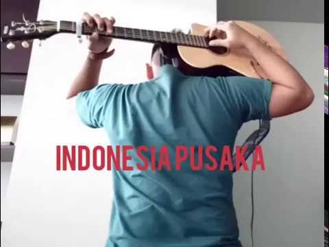 Indonesia Pusaka - Fingerstyle guitar version (arranged Domy Stupa)
