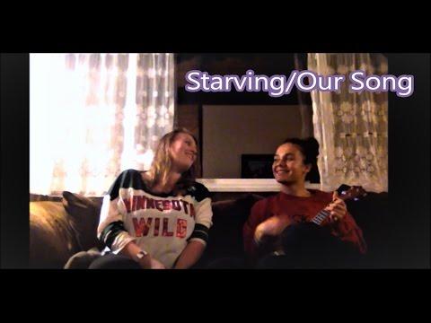 Starving/Our Song UKULELE MASHUP