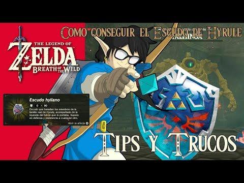 The Legend of Zelda: Breath of the Wild | Tips y Trucos| Como conseguir el Escudo de Hyrule
