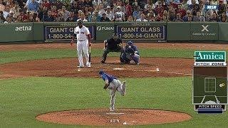 CHC@BOS: Ortiz anticipa base por bolas thumbnail