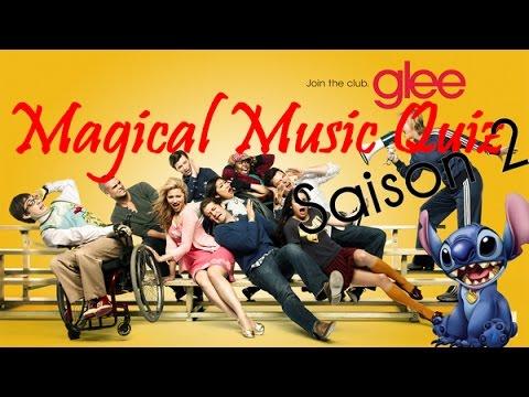 Magical Music Quiz Glee Saison 2
