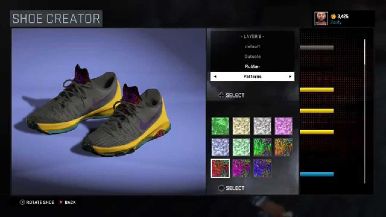 2758d2737c0c NBA 2K16 Shoe Creator - Nike KD 8