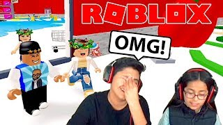 OMG THIS OBBY IS SO ANNOYING! ROBLOX | ESCAPE THE EVIL GROCERY OBBY | FAMBAM GAMING