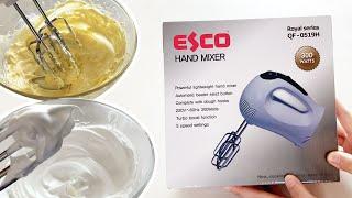 에스코 핸드믹서 언박싱!ㅣ가성비좋은 초보 홈베이킹 추천…