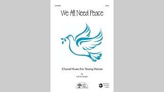 We All Need Peace - MusicK8.com Page Turner