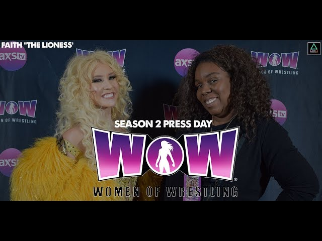 "WOW: Women of Wrestling Press Conference - Faith ""The Lioness"""