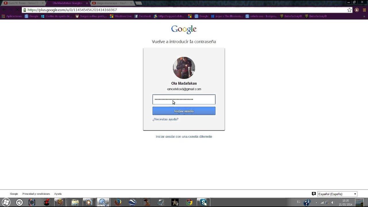 COMO CAMBIAR EL NOMBRE DE TU CUENTA GMAIL - YouTube