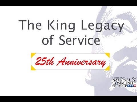 MLK Day Legacy of Service - 25th Anniversary