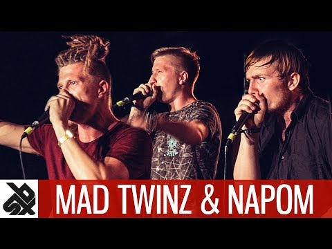 NAPOM & MAD TWINZ | Fantasy Battle Jam | World Beatbox Camp