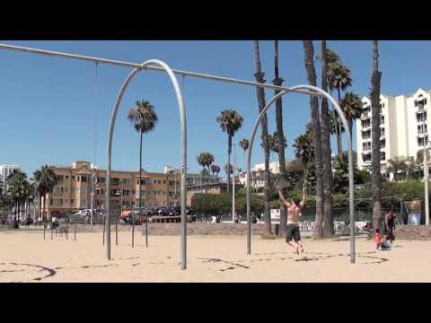 Gymnastics at Santa Monica & Venice Beach