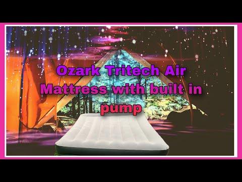 Ozark Tritech Air Mattress Setup And Review!!