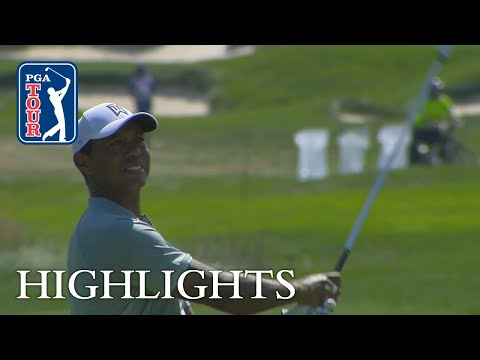 Tiger Woods' highlights | Round 1 | BMW 2018