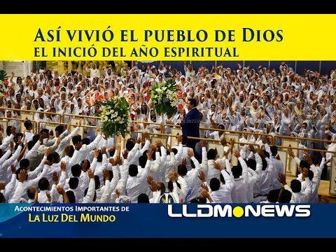 Así vivió el pueblo de Dios el inició del año Espiritual.