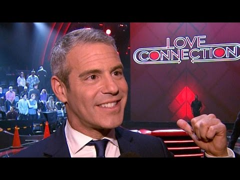 On Set of 'Love Connection' with Andy Cohen
