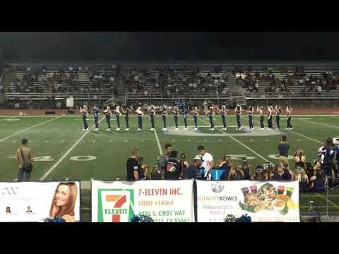 Oakmont High School dance team football game
