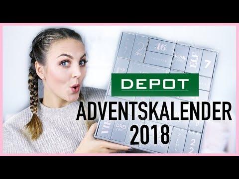 DEPOT Adventskalender 2018 unboxing deutsch