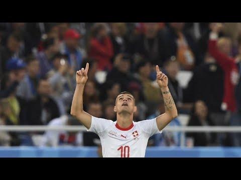 AFP: Mondial-2018:la Suisse renverse la Serbie grâce à ses