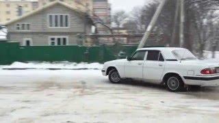 Волга V8 зимние покатушки