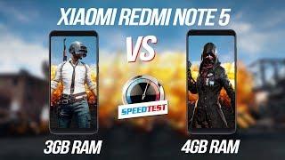 So sánh hiệu năng Redmi Note 5 bản 3GB và 4GB RAM