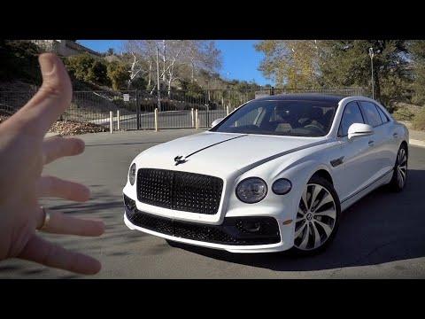 El Sedan Más Rápido Del Mundo! El Bentley Flying Spur! | Salomondrin