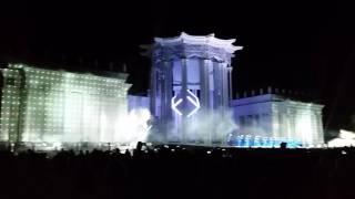 Лазерное шоу Москва ВДНХ 30 июля 2016 (часть 3)