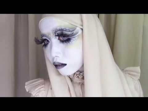 Blue Jasmine shironuri make-up movie short ver by minori