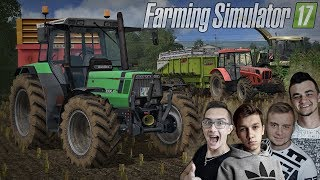hahaha..!! Wesoła Kiszonka 2018 z ekipą MST ✔ PGR Bruzda - Farming Simulator 17 MP ✔ MafiaSolecTeam