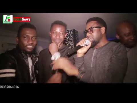 Singing Sensation, #Styl Plus Back With #Aso Ibora, Thrills Fans At Listening Party In Abuja