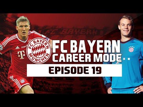 Deutscher Pokal Final LIVE! FIFA 14: Bayern Munich Career Mode - S1 E19