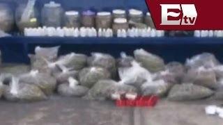 Decomiso de drogas y un caimán en el Barrio de Tepito / Excélsior en la media
