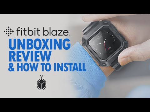 Fitbit Blaze Unboxing & Review + How to Install UB Pro