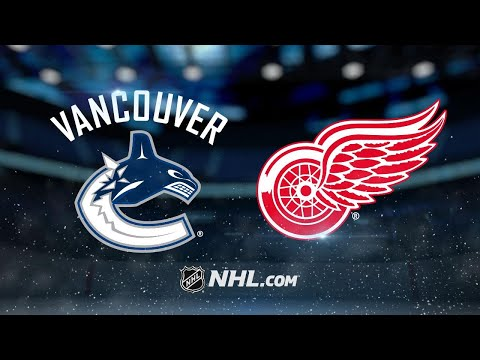 Baertschi helps Canucks to 4-1 win against Red Wings