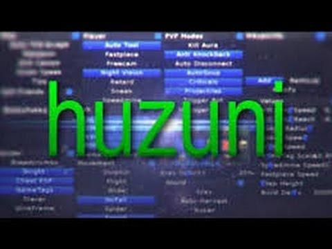 تحميل هكر ماين كرافت 1.8 huzuni