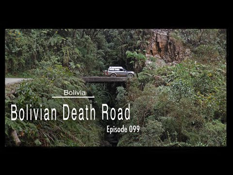Adventure Travel Bolivia - Bolivian Death Road (Tim and Kelsey get lost Ep 099)
