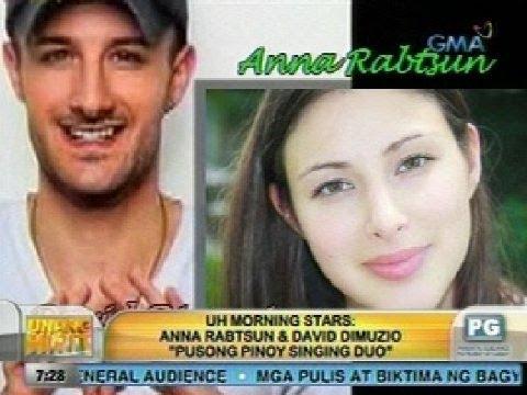 UH: UH Morning Stars: Anna Rabtsun & David Dimuzio 'Pusong Pinoy Singing Duo'
