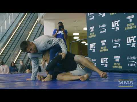 UFC 216: Ray Borg Open Workout Highlights - MMA Fighting