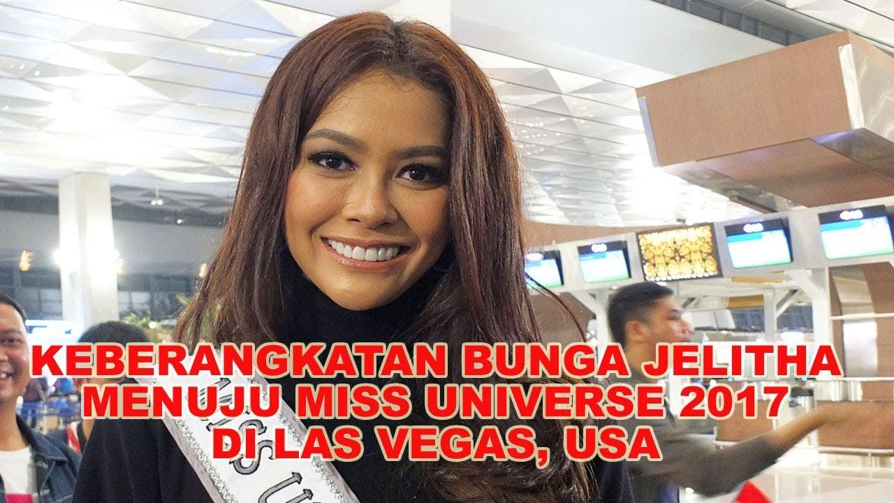 Download Keberangkatan Bunga Jelitha Ibrani Menuju Karantina Miss Universe Di Las Vegas Usa