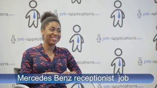 Mercedes-Benz Interview - Receptionist