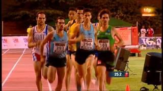 Cto. España Abs. 800 m Hombres FINAL- Polideportivo José Caballero -Alcobendas, 28 JULIO 2013