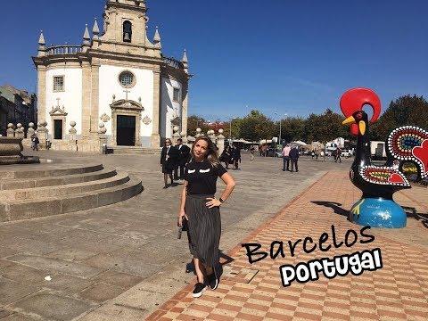 Vlog: Um pouquinho de Barcelos - Portugal | Vanessa Catrib