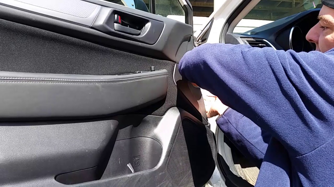 How To Remove The Door Panel On A Subaru Outback