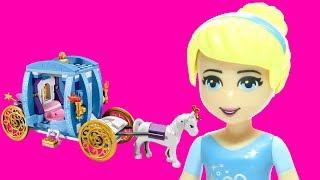 Lego Cinderella's Dream Carriage 41053 Disney Princess Flash Speed Build