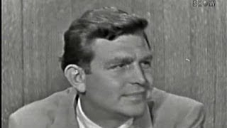 What's My Line? - Andy Griffith; Jack Lemmon [panel] (Jun 22, 1958)
