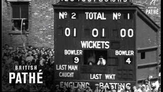 Fight For The Ashes - Final Test At The Oval (1953)