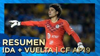 Resumen - Ida + Vuelta | Tigres 4-5 Club América | Todos Los Goles | 4tos | Apertura 2019