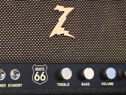 Dr Z Route 66 amplifier demo with Fender Stratocaster and Z Best ...