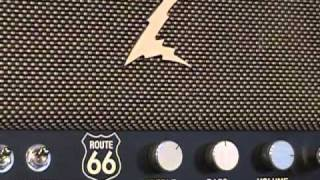Dr Z Route 66 amplifier demo with Fender Stratocaster and Z Best 212 Cabinet