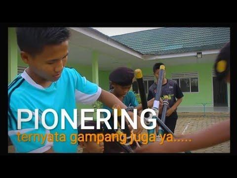 Kreasi tongkat pramuka (pionering) karya santri gontor kampus 11   #pramukaindonesia #pramukagontor