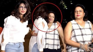 Priyanka Chopra Get's Emotional Goodbye From Mother Madhu Chopra